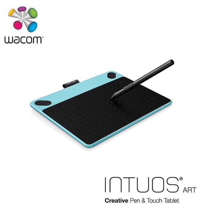 Wacom Intuos Art 藝術創意觸控繪圖板-時尚藍(小)CTH-490