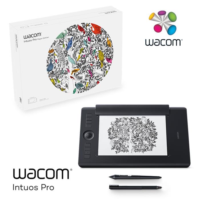 Wacom Intuos Pro Medium 雙功能創意觸控繪圖板 PTH-660/K1-C