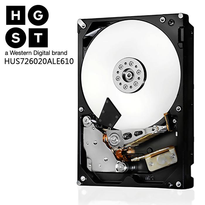 (限時促銷85折下殺)HGST 2TB 3.5吋 SATAⅢ 企業級內接式硬碟(HUS726020ALE610)