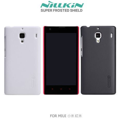 NILLKIN MIUI Xiaomi 小米機 紅米 超級護盾硬質保護殼 抗指紋磨砂硬殼(黑白)白色