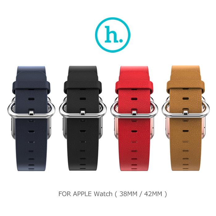 HOCO Apple Watch (38mm / 42mm) 優尚皮錶帶 - 帕戈款