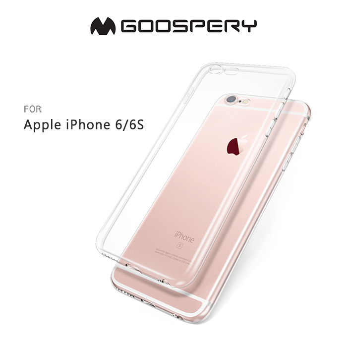 GOOSPERY Apple iPhone 6S / 6 4.7吋 CLEAR JELLY 布丁套