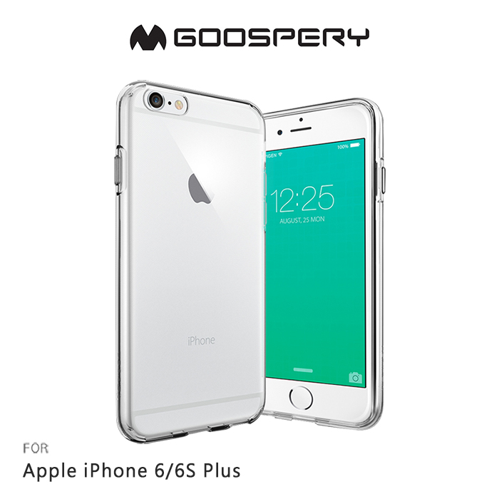 GOOSPERY Apple iPhone 6S / 6 Plus 5.5吋 CLEAR JELLY 布丁套