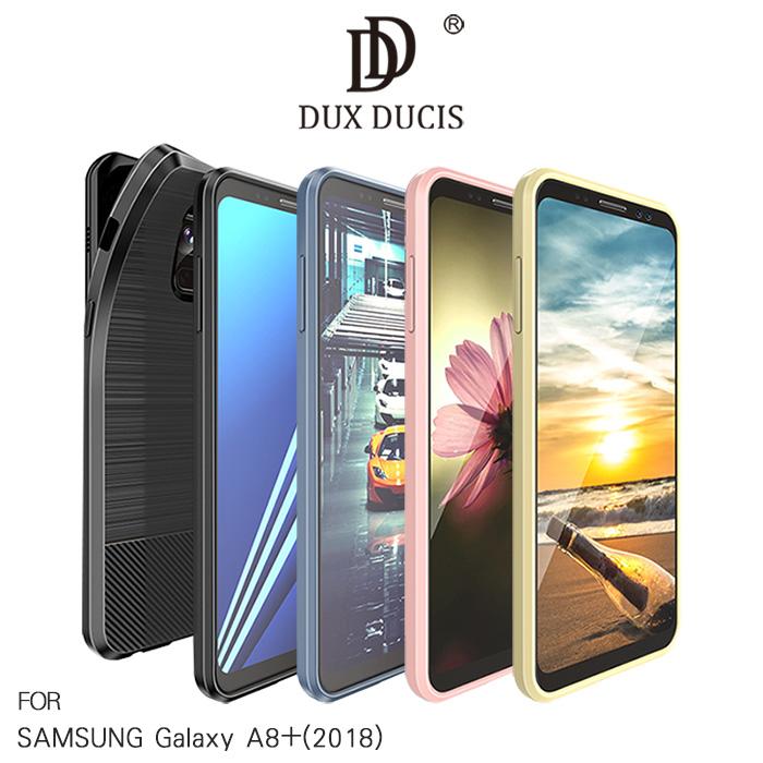 DUX DUCIS SAMSUNG Galaxy A8+(2018) MOJO 保護套黑色