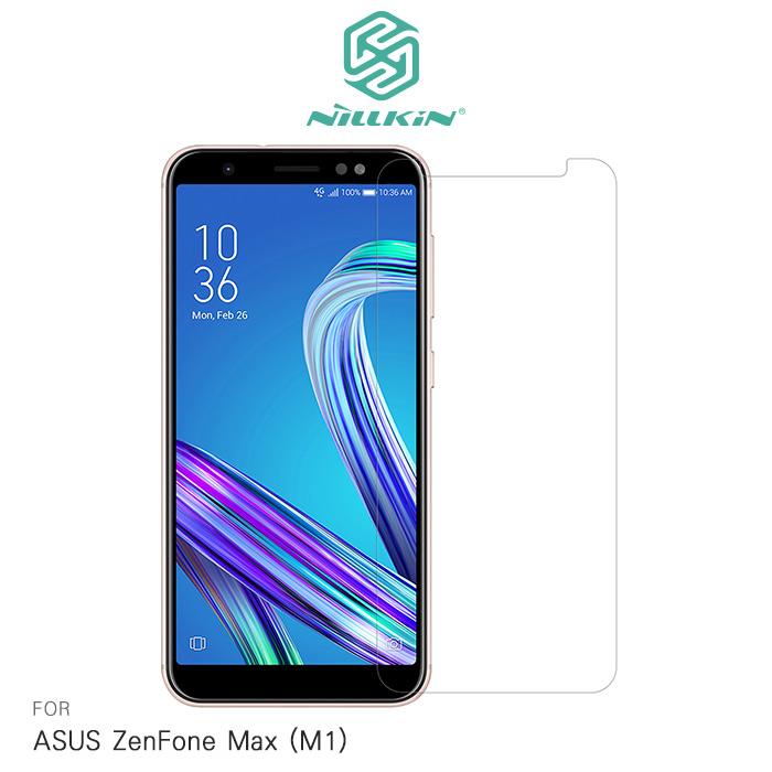 NILLKIN ASUS ZenFone Max (M1) ZB555KL 超清防指紋保護貼 - 套裝版