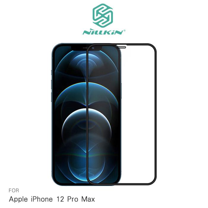 NILLKIN Apple iPhone 12 Pro Max 6.7吋 PC 滿版玻璃貼