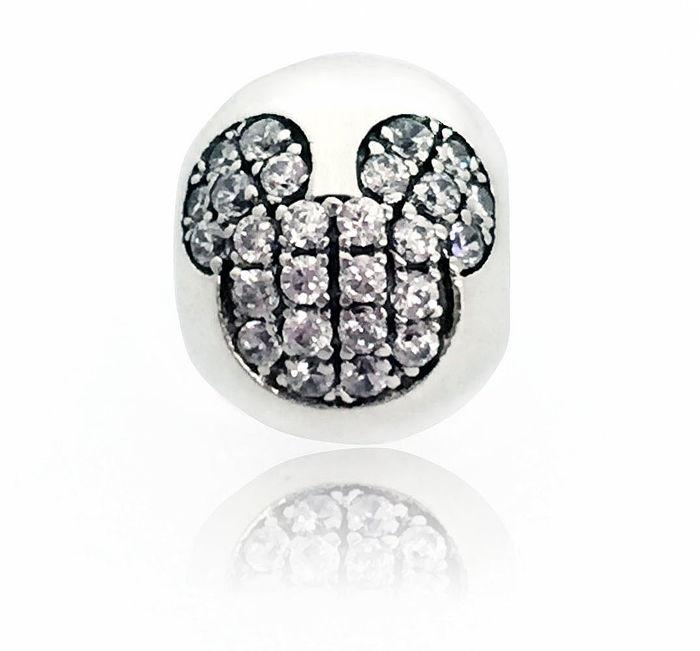 【儷禾柏珠寶】925純銀串珠 水鑽米奇
