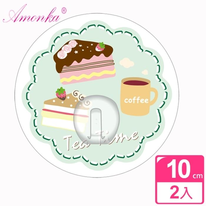 【AMONKA】3R神奇無痕掛勾(圓單勾)(點心時刻蛋糕)2入