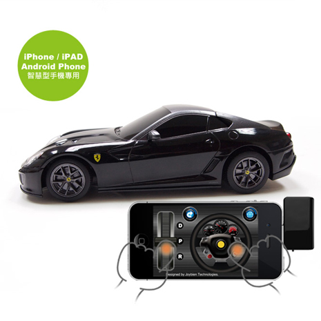 【JoyXpeed】iPhone / Android 遙控車 法拉利 599 GTO 1:24