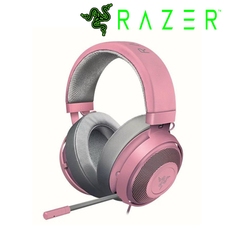 RAZER 雷蛇 Kraken 北海巨妖 粉色 粉晶 電競耳機麥克風