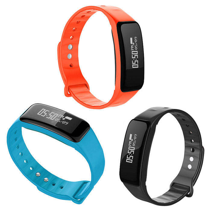 ME11H 藍牙智慧手錶 心率檢測 Line、FB訊息通知提醒黑