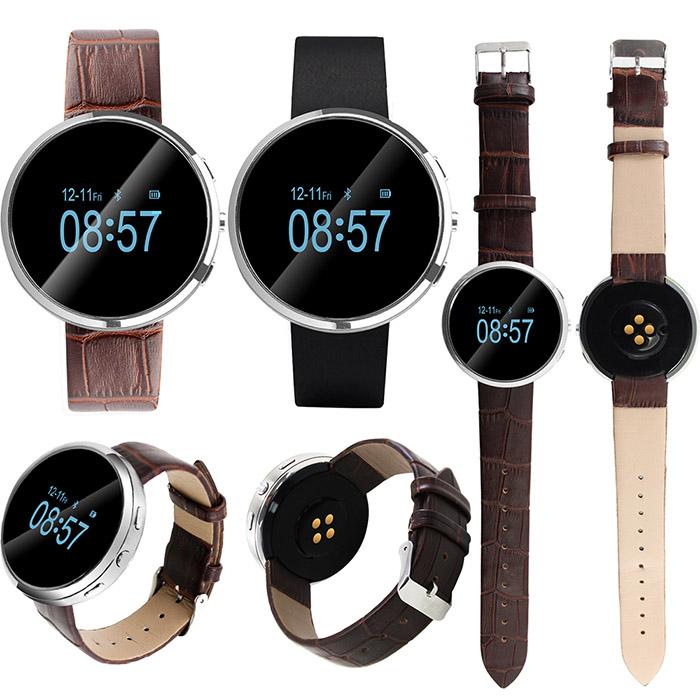 IS愛思 RW-02 藍牙智慧通話手錶 OLED屏咖啡