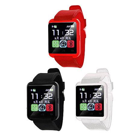 IS愛思 WA-01藍牙智慧手錶 通訊錄同步白