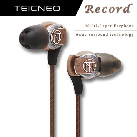 TeicNeo - Record 複合音效入耳式耳機 TF-001