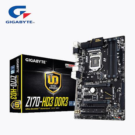 GIGABYTE 技嘉 GA-Z170-HD3 主機版
