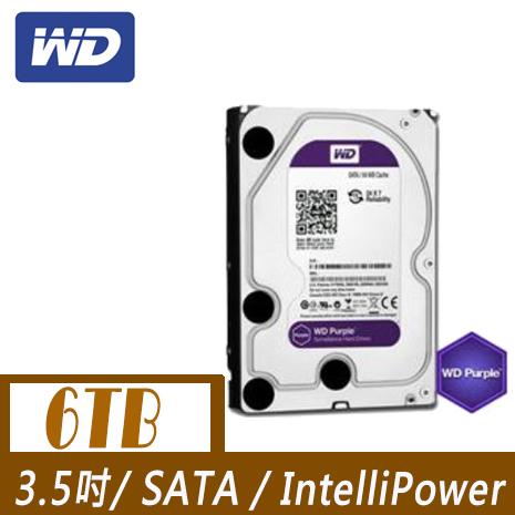 WD 威騰 PURX 6TB 3.5吋SATAIII 硬碟(WD60PURX)
