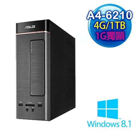 【拆封新品】ASUS華碩 K20DA AMD A4-6210四核 獨顯 1TB大容量 Win8.1電腦 (K20DA-0021A621R5S)