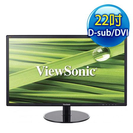 ViewSonic優派 VX2209 22型 雙介面液晶螢幕