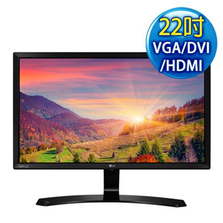 LG樂金 22MP58VQ-P 22型AH-IPS三介面電競螢幕