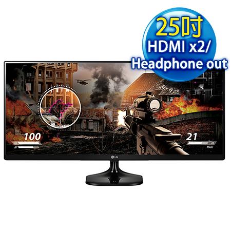 【福利品】LG樂金 25UM58 25吋 UltraWide WQHD AH-IPS 電競旗艦螢幕