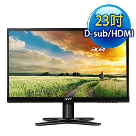 Acer宏碁 G237HL 23型 不閃頻,濾藍光 IPS寬液晶螢幕