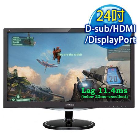 ViewSonic優派 VX2457-mhd 24型 電競寬液晶螢幕
