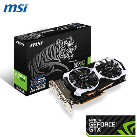MSI 微星 GEFORCER  GTX 960 4GD5T OC 顯示卡