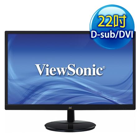 ViewSonic優派 VA2259 22型 AH-IPS超廣角液晶螢幕-數位筆電.列印.DIY-myfone購物