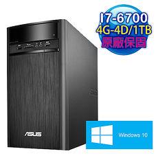 ASUS華碩 K31CD Intel I7~6700四核 4G~D41TBWIN10桌上型