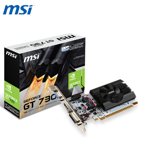 MSI 微星 N730K-1GD5LP/OCV1 顯示卡