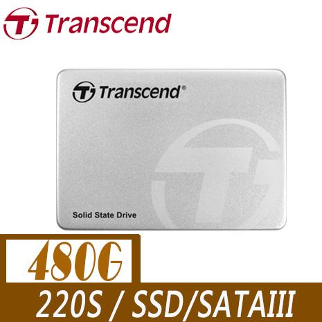 Transcend 創見 220S 480G 2.5吋 7mm SATA3 SSD 固態硬碟