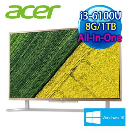 【福利機】Acer C22-760 22型/i3 雙核/8G/1TB/Win10 AIO超纖薄液晶電腦