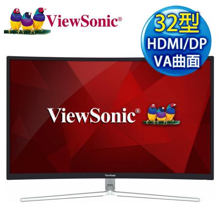【APP限量特賣】ViewSonic優派 XG3202-C 32型VA曲面144Hz極速電競螢幕