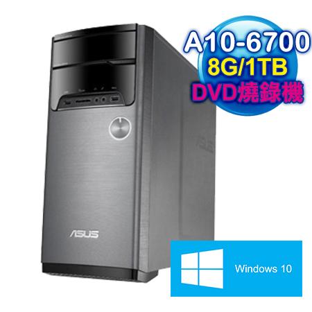 ASUS華碩 M32BF AMD A10-6700四核 8G / 1TB / Win10家用版 桌上型電腦(M32BF-0031C670UMT)