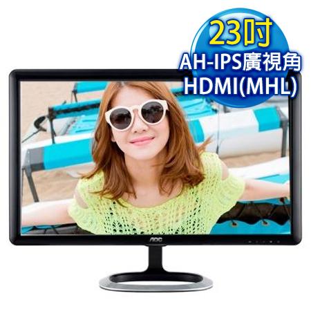 【福利品】AOC 艾德蒙 I2371FM 23型AH-IPS寬螢幕-數位筆電.列印.DIY-myfone購物