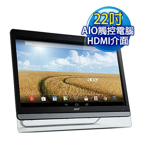 【出清福利機】ACER宏碁 DA222HQL 22型 智慧型 觸控 四核心 All In One平板電腦