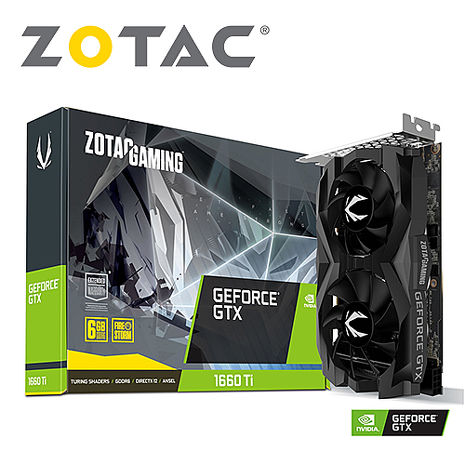 ZOTAC索泰 GTX1660TI-TWF-6G 顯示卡