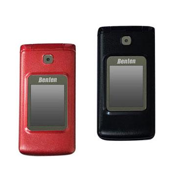 Benten W703+ W703 PLUS3G 大字體雙螢幕摺疊銀髮族御守機 孝親機 老人機黑色