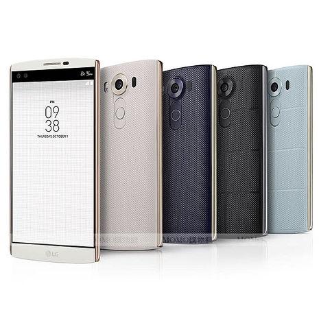 LG V10 H962 5.7吋 4G/64G 六核心 雙螢幕雙鏡頭雙前鏡頭攝旗艦智慧型手機-白色