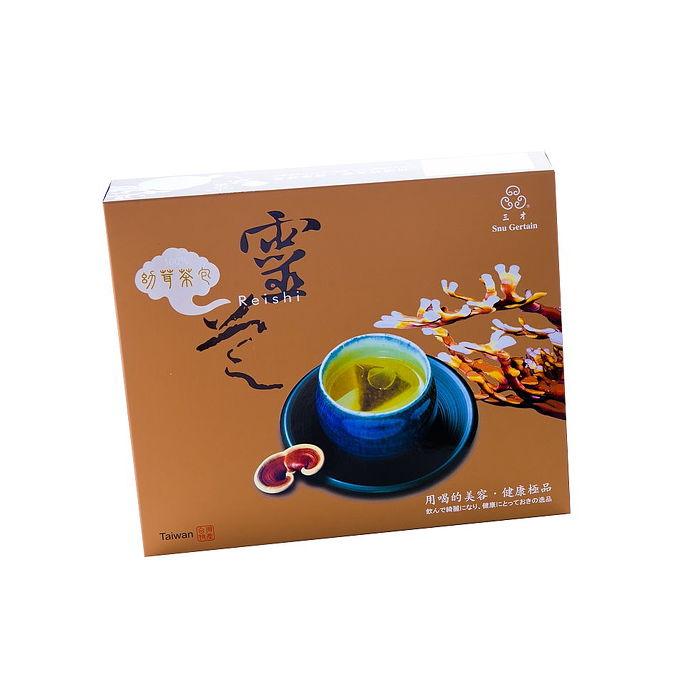 靈芝幼茸茶包(大)-買再多送5包