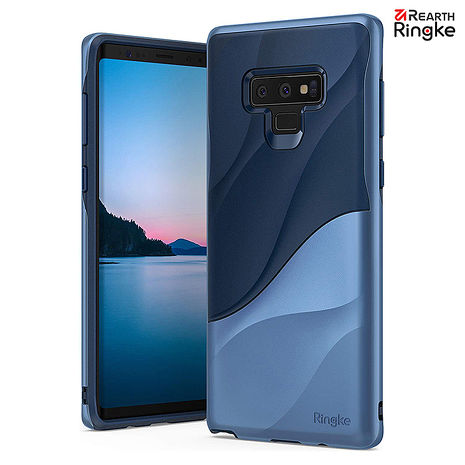 【Rearth Ringke】三星 Galaxy Note 9 [Wave] 流線型雙層邊框防撞手機殼