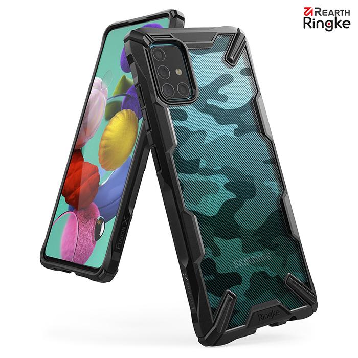 【Ringke】Rearth 三星 Samsung Galaxy A51 [Fusion X Design] 透明背蓋防撞手機殼