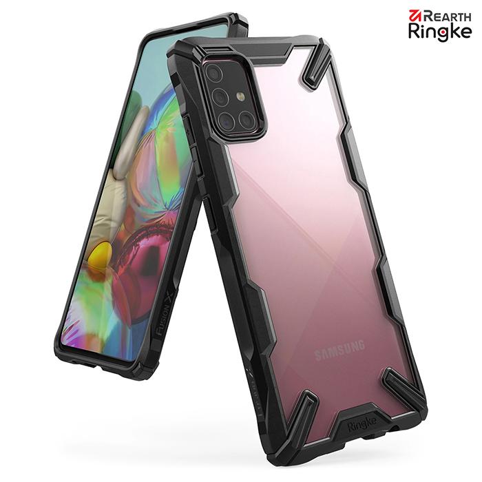 【Ringke】Rearth 三星 Samsung Galaxy A71 [Fusion X] 透明背蓋防撞手機殼