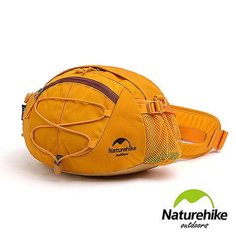 Naturehike 8L輕量耐磨CORDURA亮彩多功能腰包 肩背包 提包 黃色