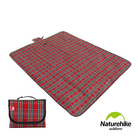 Naturehike戶外多用途攜帶式野餐墊 防潮墊 地墊 紅色