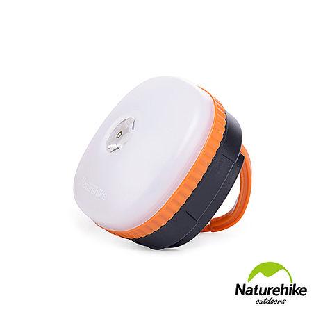 Naturehike 迷你防水四段式LED磁性多功能手電筒帳篷燈 營燈 橙色