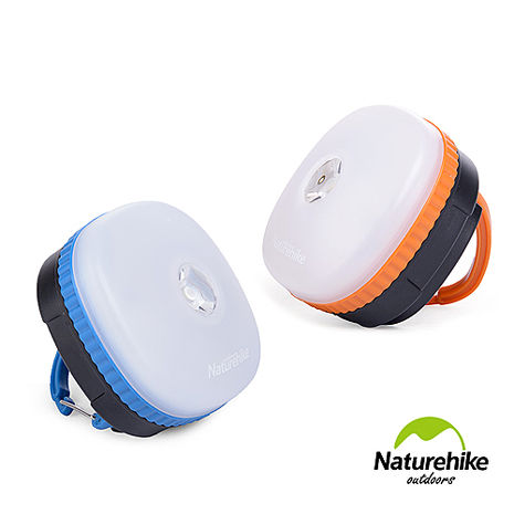 Naturehike 迷你防水四段式LED磁性多功能手電筒帳篷燈 營燈 兩色藍色