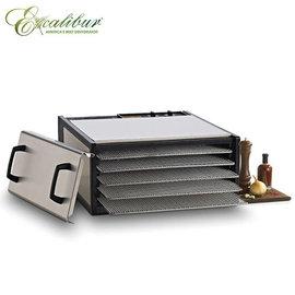 《Excalibur》伊卡莉柏生機全營養低溫烘焙機-不鏽鋼五層(D500SHD)