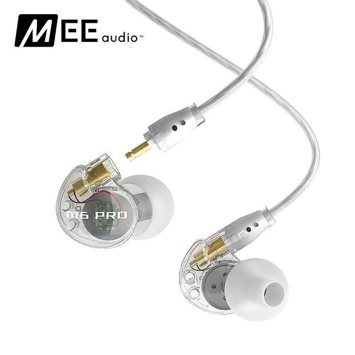 MEE audio M6 Pro 專業入耳式監聽耳機(透明)