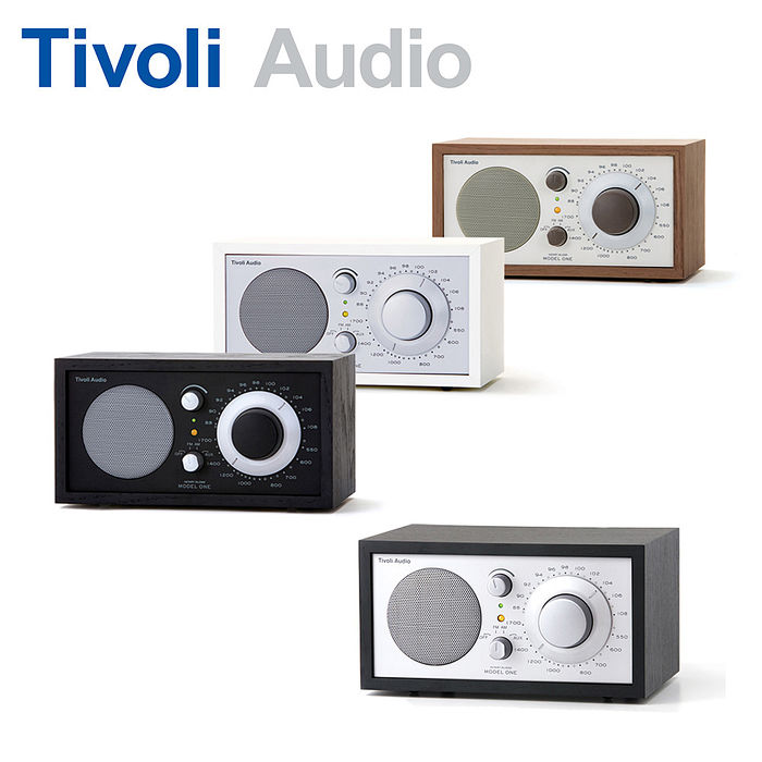 Tivoli Audio Model One AM/FM 桌上型收音機黑銀色